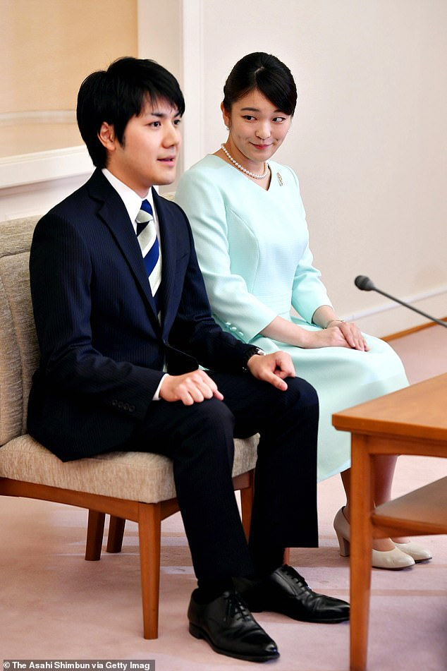 Princess Mako of Japan, 29, will give up her royal title to marry her fiancé, Kei Komuro, later this year. However, even if a law change permits her to remain part of the imperial family, traditionalists still believe that any son she may bear must not ascend the throne
