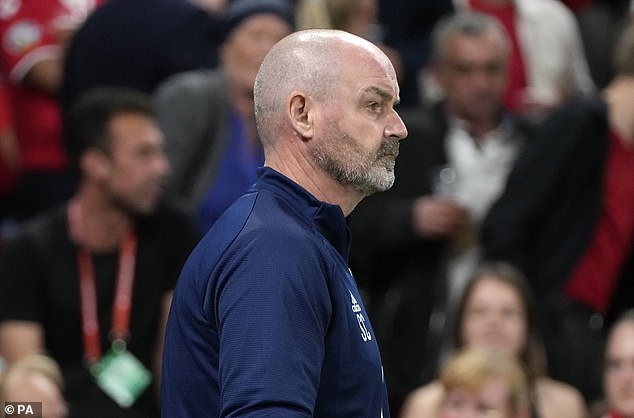Steve Clarke's World Cup hopes were dealt a blow after his side were outclassed in Denmark