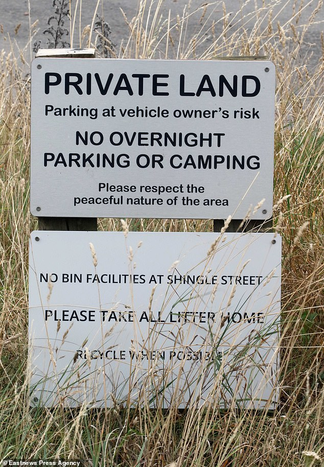 Locals want tourists and campervans to park in carparks rather than on the side of the road