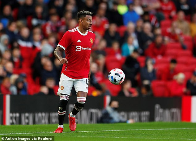 Lingard fell out of favour at Manchester United but has now been reintegrated into the squad