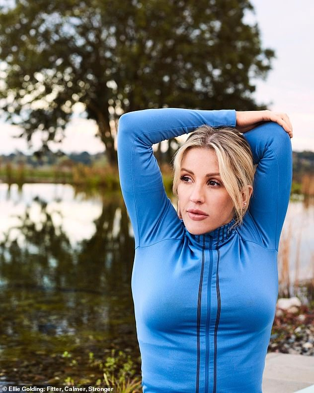 Elsewhere in the interview, Ellie discussed how she became addicted to exercising in the past