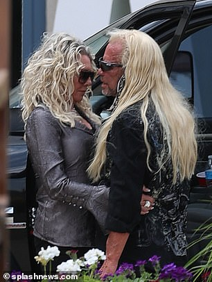 The reality star was seen kissing his bride-to-be and sharing an intimate moment