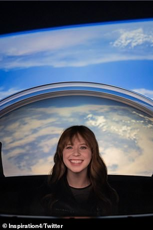 Hayley Arceneaux will be the first bone cancer survivor to travel to space