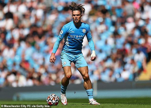 Grealish is England's most expensive footballer following his big-money summer move