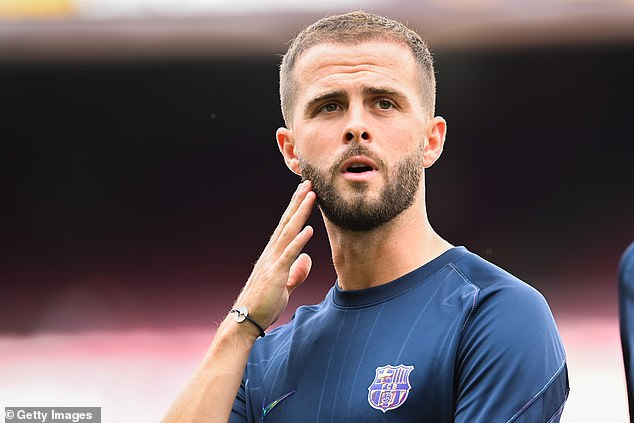 Miralem Pjanic has secured a loan to Besiktas after becoming frozen out at Barcelona