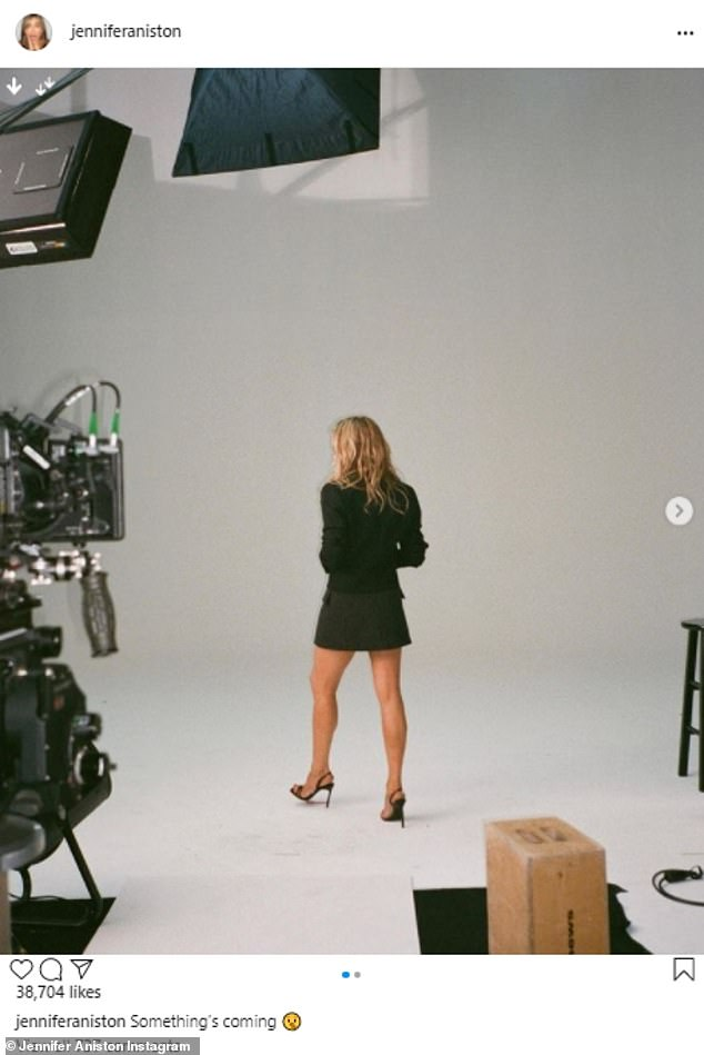 Coming soon! Jennifer Anistonconfirmed on Thursday that she will be launching her very own beauty brand LolaVie on Wednesday, September 8