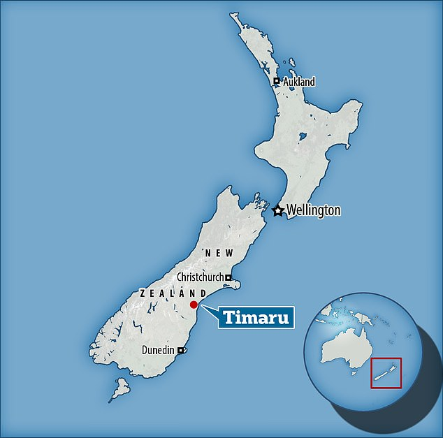 Timaru is a port city on New Zealand's south coast, which like much of the country is embroiled in a level-3 lockdown - the second-highest tier - as the nation battles the Delta variant of the coronavirus