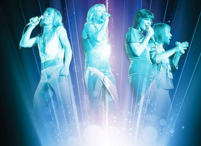 Blast from the past: It was previously reported the band are to put on a holographic show of their past hits, with the imagery being imagined above