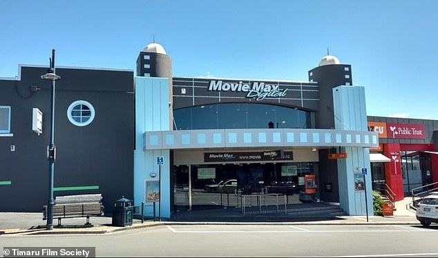 The as yet unnamed employee of Movie Max Cinemas in the South Island port city of Timaru was trying to record a new voicemail message for the cinema's answering machine to notify customers of the cinema's closure amid New Zealand's level-3 lockdown