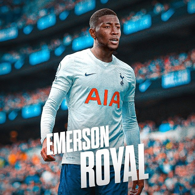Emerson was officially unveiled by Spurs on deadline day, and he has penned a five-year deal