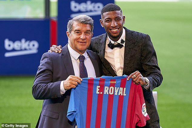Barcelona handed Emerson an unveiling of his own last month before then pushing him out