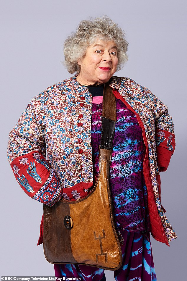 Having been an actress for over 50 years, it is an odd feeling to know that, whatever else I do, I will be best known for playing Professor Pomona Sprout, Miriam Margolyes (pictured) said