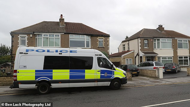 Officers searching a home in Pudsey, West Yorkshire in connection with the probe
