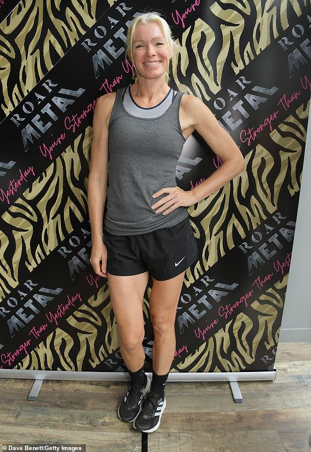 Model Nell McAndrew (pictured last week), is another Roar devotee