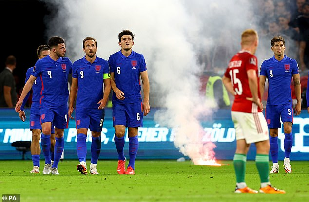 England faced down a torrent of abuse at the Ferenc Puskas Arena in Budapest last week