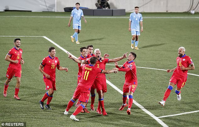 The 2-0 win on home turf last week was the highest margin of victory Andorra have achieved