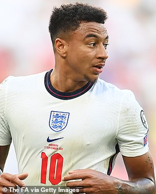 Jesse Lingard (pictured) paid tribute to new team-mate Cristiano Ronaldo with his goal celebration