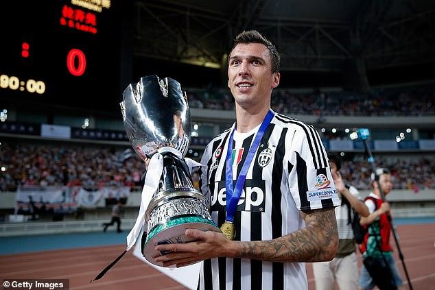 Mandzukic had a successful playing career winning trophies at Juventus and Bayern Munich