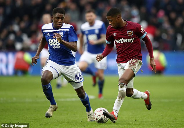 Xande Silva (right) left West Ham on deadline day to join Nottingham Forest on a two-year deal