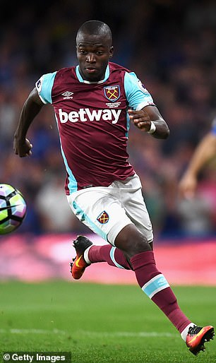 Enner Valencia managed 10 goals in three seasons in east London