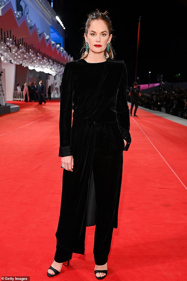 Wow!It comes after the actress oozed glamour at the Mona Lisa and the Blood Moon premiere during the 78th Venice International Film Festival last month