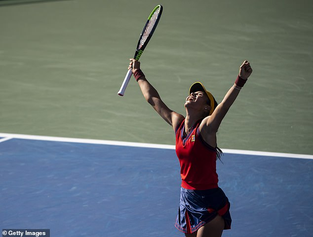 Emma Raducanu continues her US Open journey on Monday at the last-16 stage