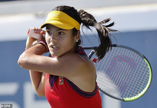 Raducanu will faceBelinda Bencic orIga Swiatek in the next round if she gets past Rogers