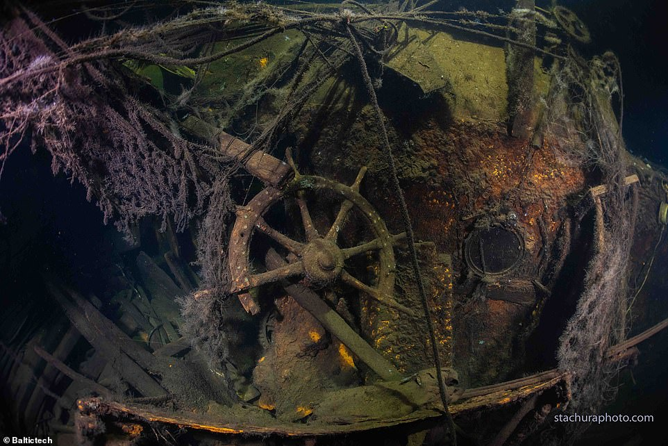 The wreck of the German cruiser Karlsruhe was discovered off the Polish coast by divers exploring the area in search of the ship which was sunk in April 1945