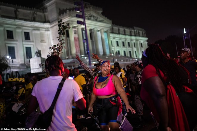 Brooklyn's J'Ouvert festivities have been marred by violence in past years, but this year's event was peaceful