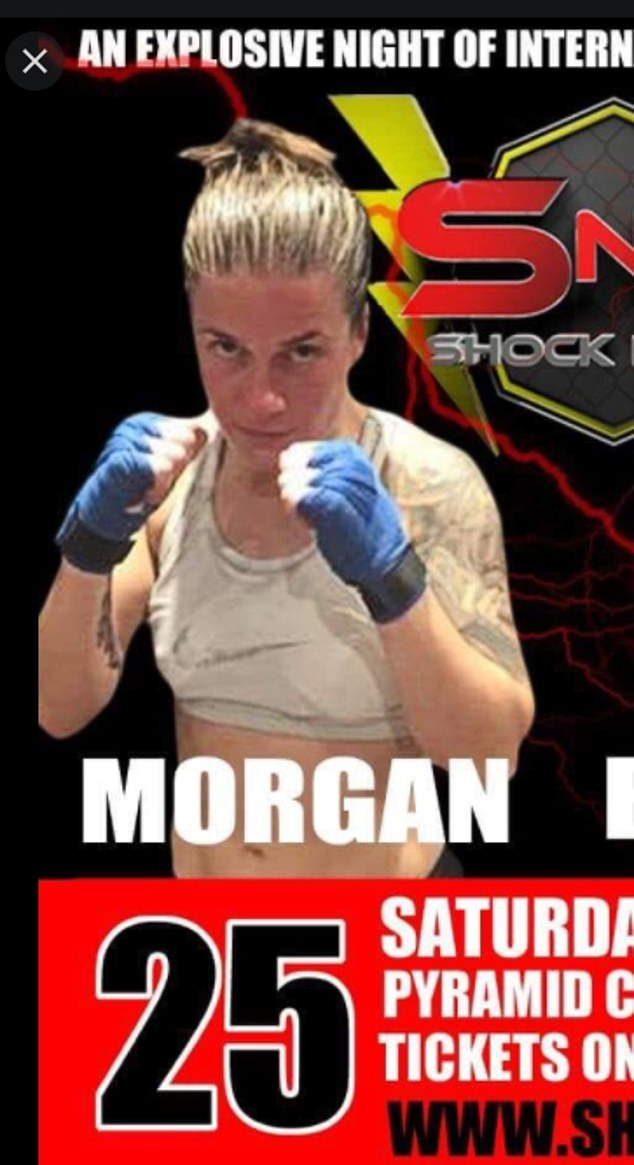 Her opponent Janie Morgan fought her in the match and worked as a personal trainer