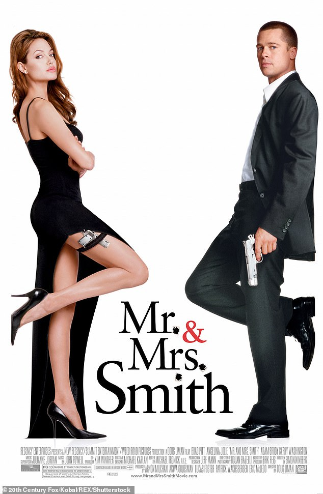 Inspiration:The original Mr And Mrs Smith in 2005 - starring Angelina Jolie and Brad Pitt - was a blockbuster hit, grossing more than $487 million worldwide