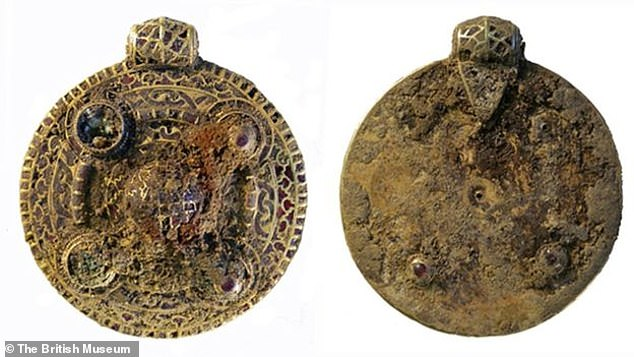 The Winfarthing Pendant, discovered in 2014, was on show at the British Library in London along with the Alfred Jewel and the Domesday Book