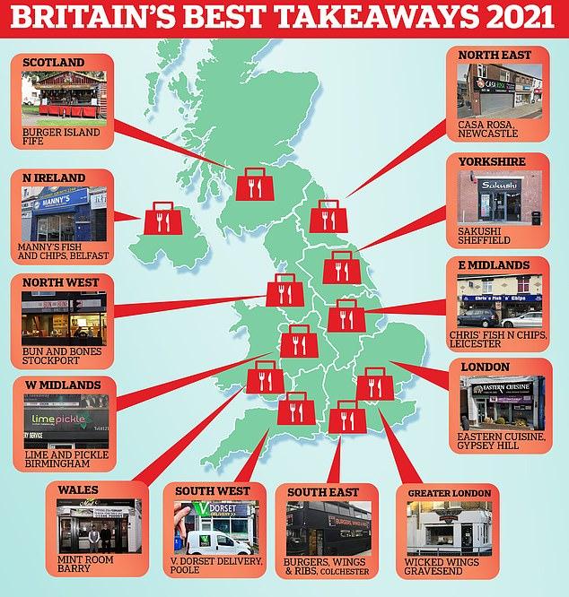Britain's best takeaways: Japanese restaurant Sakushi in Sheffield takes top spot at BTAs