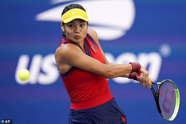 Social media was delighted as Emma Raducanu continued her incredible run at the US Open