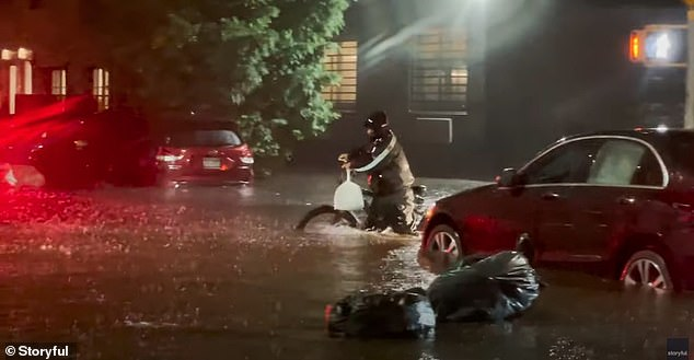 The total death toll in New York City rose to 12 on Thursday night as the remnants of Hurricane Ida pummeled into the tri-state area