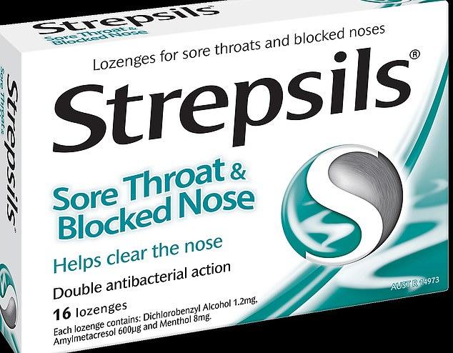 Strepsils blocked nose lozenges