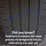 The little-known grooves in your tyres that tell you when it's time to replace them💥👩💥💥👩💥