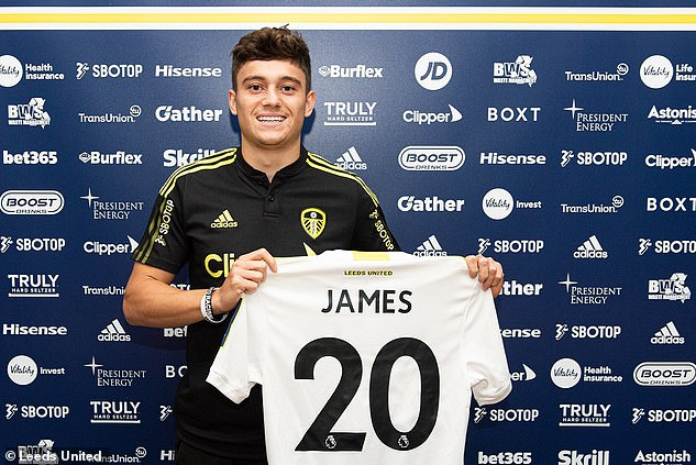 Therefore he signed for Leeds United on five-year contract for an undisclosed fee this summer