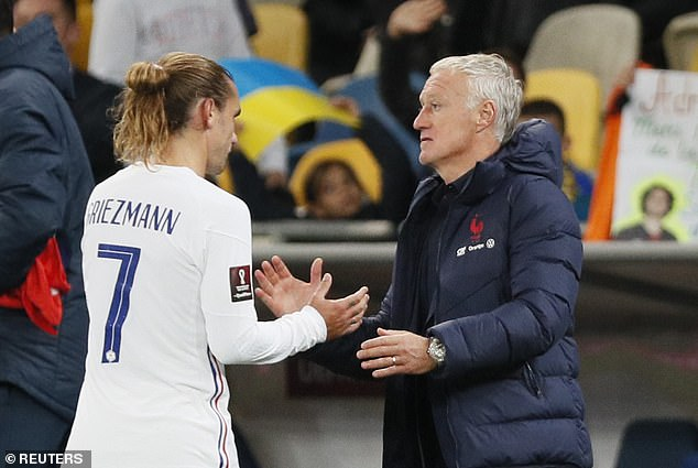 Didier Deschamps is facing a number of problems, including the role of Antoine Griezmann