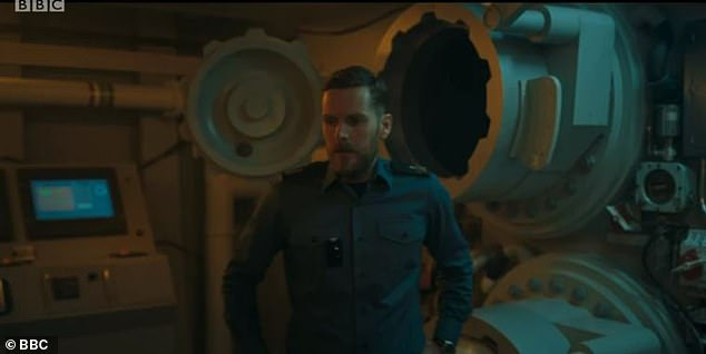 Experts have said that it is more likely the body of Martin Compston's character would be kept in the freezer compartment onboard rather than the torpedo tube although it is possible