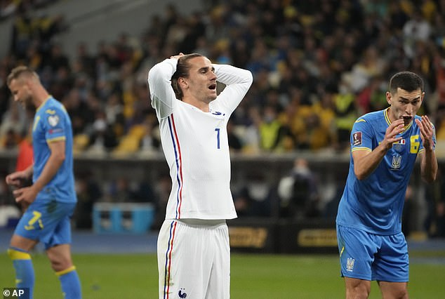 Griezmann is undergoing a difficult period, unsure of his role with the national team