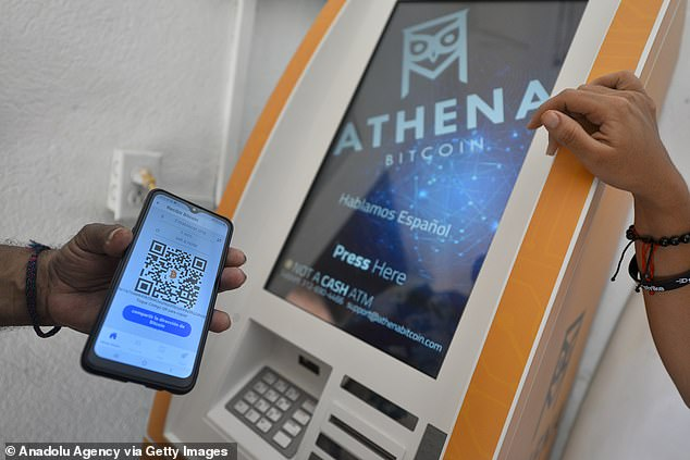 Bitcoin ATMs allow cryptocurrency holders to transfer the virtual money into U.S. dollars