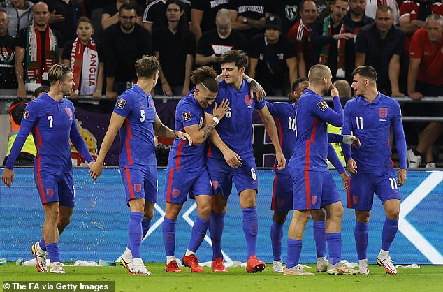 Southgate lauded the belief from his players after their World Cup qualifying win in Hungary
