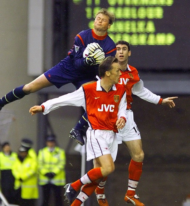 The Austrian goalkeeper played with the likes of Martin Keown and Tony Adams at Arsenal