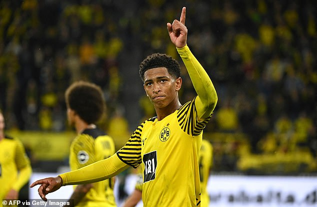 Bellingham had joined Dortmund for £25m but his form has since seen his price tag skyrocket