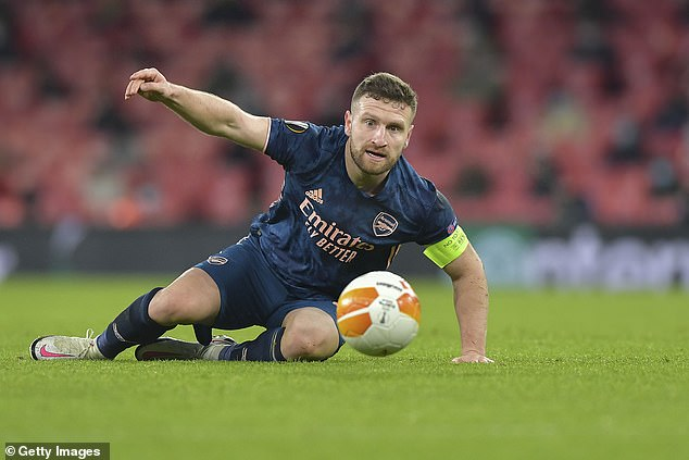 Mustafi was released by Arsenal earlier in the year after falling out of favour at the club