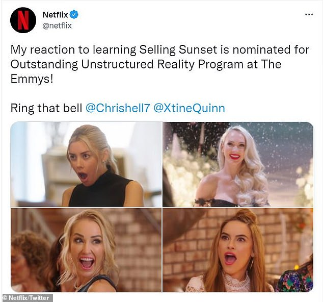 Airing September 18 on FXX! Adam DiVello's hit Netflix show is up for the unstructured reality program trophy at the 73rd Primetime Creative Arts Emmy Awards, which will be held this Saturday and Sunday in LA