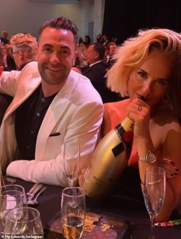 Ex factor!The report comes after Pip called time on her relationship with Cameron Northway (left), the Bondi restaurateur she dated for four months after splitting with Michael