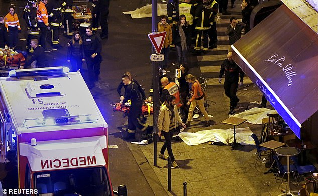 The attacks in 2015 are the biggest in French history outside of the attacks that took place during WWII