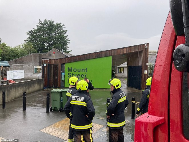 Thunderstorms and heavy rainfall have already lashed parts of the south-west of England on Wednesday morning, with Mount Street Primary School, Plymouth having to be evacuated after reports of lightning hitting the building